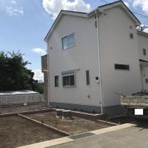 【外構工事スタート!】富士市天間リナージュ 全2棟 2号棟