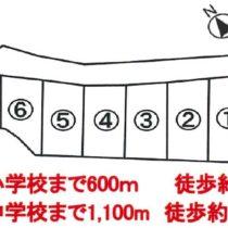 【NEW!建築条件付き売土地ではありますが!】富士市米の宮北分譲地 全6区画 6号地