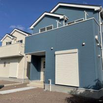 【2/22価格見直しました!青い空と太陽が似合うブルーの家!】富士宮市小泉20-1期 リナージュ 全2棟 2号棟